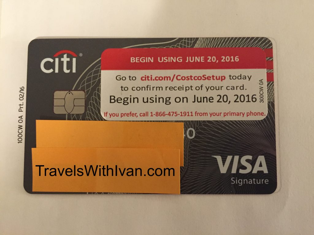 The Citi Costco Anywhere Visa Card is Here! - Travels With Ivan